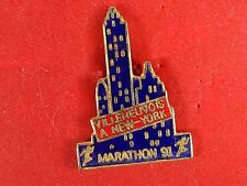 pins pin sport marathon course a pied new york