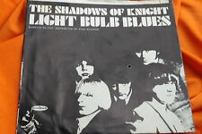Rare Garage Rock PS & 45 : The Shadows Of Knight ~ Light Bulb Blues ~ Dunwich