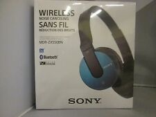 Sony MDRZX550BN/L BRAND Bluetooth and Noise Cancelling Headset (Blue) Headphone