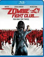 Zombie Fight Club (Blu-ray Disc,2016)Brand New with Slipcover,Same Day Free Ship