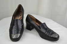 Court shoes Trotters Comfort ARTIKA Leather Black and grey T 36,5 TOP CONDITION