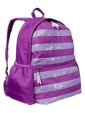 GAP Kids Girls School Backpack Weekend Travel Book Bag in Purple Flower NWT