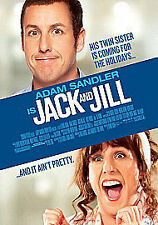 Jack and Jill (Blu-ray + UV Copy)  DVD Adam Sandler, Katie Holmes, Al Pacino, Da