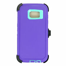 Defender Rugged Case for Samsung Galaxy S7 / edge w/Belt Clip & Screen Protector