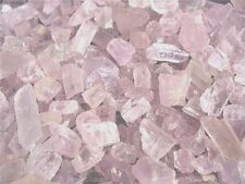 Kunzite mine rough all natural Afghanistan lite pink 1/2 ounce lots 6-12 pieces