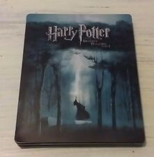 NM Harry Potter and the Deathly Hallows Part 1 Blu-ray Steelbook w/ Inserts