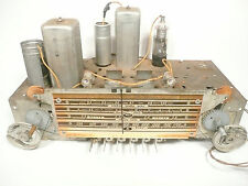 vintage * SILVERTONE 6359 BATTERY TUBE RADIO:  Untested CHASSIS with all tubes