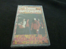 LIME SPIDERS VOLATILE ULTRA RARE SEALED CASSETTE TAPE!