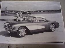 1956   CHEVROLET CORVETTE   HARDTOP   12 X 18  LARGE PICTURE  PHOTO
