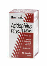 Health Aid Balanced Acidophilus Plus (lactose intolerant) - 60 vegicaps