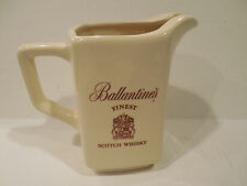 Ballantine's Finest Scotch Whisky Pub Jug Pitcher 21 Brands NYC Kingwood USA