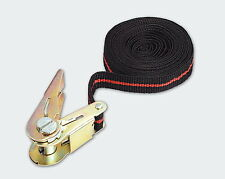 Mannesmann Ratchet Tie Down Straps    2 x Pack 5m x 25mm    750 KG VPA GS TUV