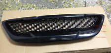 FRP Grille Grill H2 Style Unpainted Fit For Genesis Coupe Front Bumper 2010