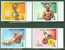 PAPUA NEW GUINEA 2015 PACIFIC GAMES  SET  MINT NH