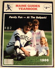 MAINE GUIDES CLEVELAND INDIANS 1986 YEARBOOK CORY SNYDER