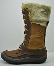 Womens Merrell Decora Prelude Waterproof Brown Leather Boots Size 8 J42708