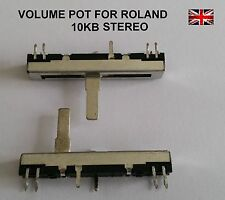 Roland Dual Potentiometer Volume slider 10Kb Dual 30mm 45mm 13359355 13359364