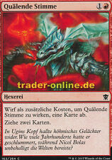 4x Quälende Stimme (Tormenting Voice) Dragons of Tarkir Magic
