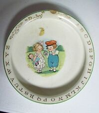 Antique Drayton CAMPBELL KIDS ABC Baby Child's Cereal Dish Bowl