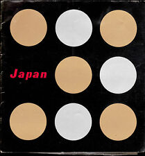 Japan 1960s Travel Booklet 28 pages w b/w pictures Himeji Castle Mount Aso