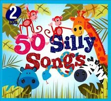 Various Artists 50 SILLY SONGS (2 CD Set) CD