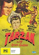 Tarzan and the Green Goddess NEW R4 DVD