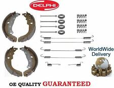 FOR PEUGEOT 207  ALL DRUM BRAKES 2006  REAR BRAKE SHOES SET + SPRING FITTING KIT