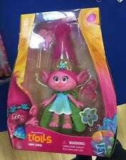 TROLLS 2016 MOVIE Princess Poppy 9 Inch Doll DREAMWORKS Collectible Figure