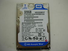 "WD Scorpio Blue 320gb WD3200BEVT-22ZCT0 2061-701499-E00 AF 2,5"" SATA"