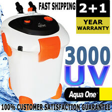 Aqua One Ocellaris External Aquarium Fish Tank Canister Water Filter 3000UV