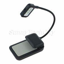 EBook Adjustable 3 LED Clip Reading Book Light Lamp For KINDLE NOOK EBook Reader