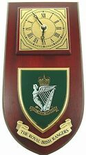 ROYAL IRISH RANGERS CLASSIC HAND MADE TO ORDER WALL CLOCK