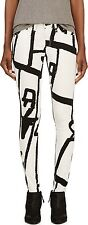 Rag & Bone, Black White, Abstract Robot, Skinny, Jeans, 24 25 26 27 28 29 30 31