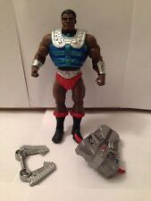 MOTUC Clamp Champ Loose Complete He-Man Action Figure MOTU Free Shipping