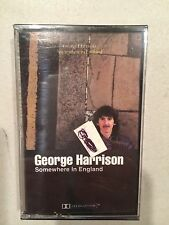 "Sealed BRAND NEW Cassette Tape-- George Harrison ""Somewhere in England"""