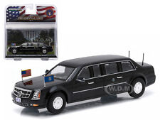 "2009 CADILLAC LIMOUSINE ""THE BEAST"" BARACK OBAMA 1/43 BY GREENLIGHT 86110 D"
