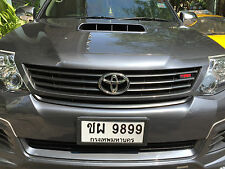 UNPAINTED FRONT GRILLE TRD STYLE FOR TOYOTA FORTUNER SUV 2013-2014 GENUINE PARTS
