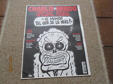JOURNAL BD CHARLIE HEBDO 698 special peurs jospin riss 2005