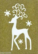Stencil Christmas Winter Reindeer Snowflakes Whimsical Swirls Snowflakes Rudolph