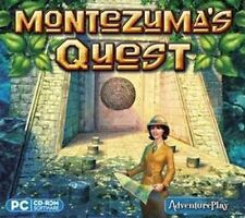 Montezuma's Quest  Gem Matching PC Game XP Vista 7 8   Brand New Sealed