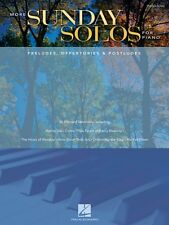 More Sunday Solos for Piano Sheet Music Preludes Offertories & Postlud 000311864