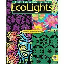 EcoLights: Stained-Glass, Coloring Book