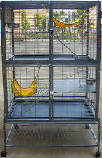 FERRET & RAT CAGE CLEARANCE SALE NARROW BAR SPACING 1.25CM  RRP $750