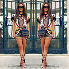 Boho Sexy Women Sleeveless Party Evening Cocktail Summer Beach Short Mini Dress