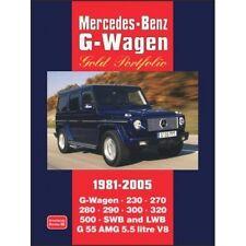 Mercedes-Benz G-Wagen Gold Portfolio 1981-2005 book paper