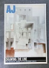 Architects Journal Dec 1986 Drawing The Line, Spitalfields, H De C Hastings,