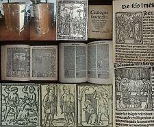 1516 Catalogus sanctorum - Postinkunabel mit über 500 Holzschnitte