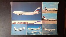 CPM FLOTTE AIR CHARTER FILIALE AIR FRANCE ET AIR INTER