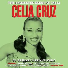Celia Cruz - The Undisputed Queen Of Salsa - 50 Original Latin Classics 2CD NEW