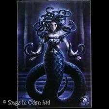 SERPENT'S SPELL Goth Fantasy Mermaid Art Fridge Magnet By Anne Stokes (8x5.5cm)
